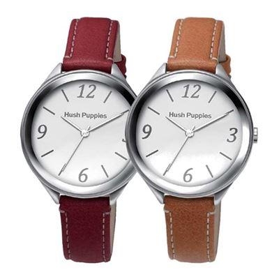 經典皮革女仕腕錶